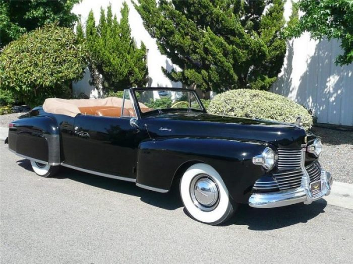 V12 Engine Cars - Lincoln Continental (First Generation)