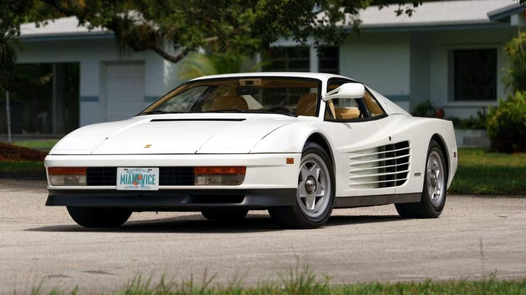 Miami Vice 1986 Ferrari Testarossa For Sale