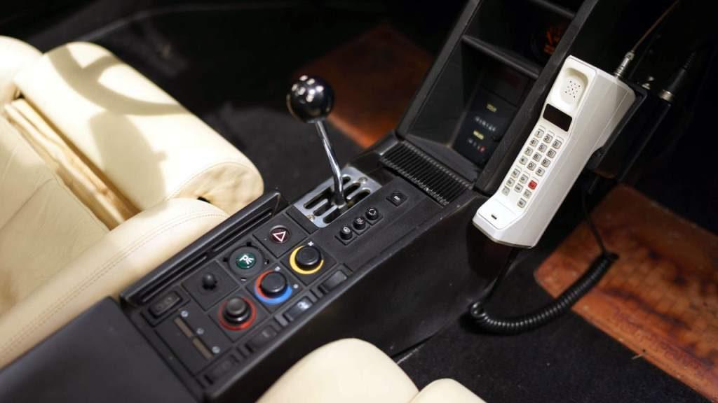 Miami Vice car for sale interior
