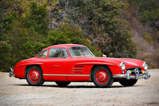 1955 Mercedes Benz 300SL Gullwing At Auction Starting Bid Of 900000 With Video