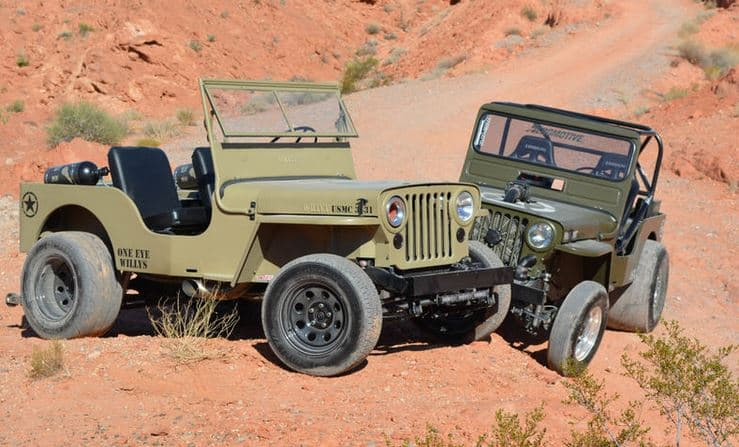 Two Classic Willys With More Than 2500 Horsepower Between Them