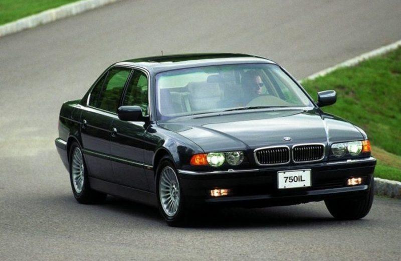 V12 Engine Cars - BMW 750i (E38)