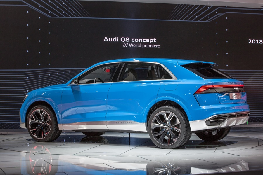 Audi Q8 Concept An Suv In Coupe S Clothing