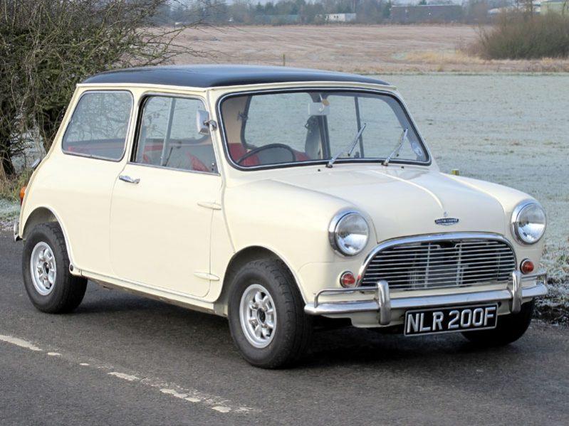 Front Wheel Drive Cars - Austin Mini Cooper S