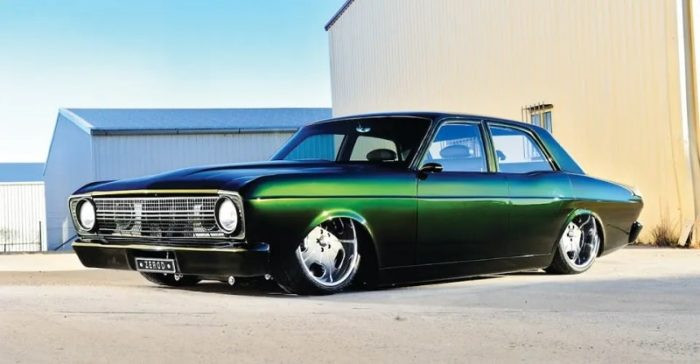 1967 Ford Falcon XR Diesel Swap
