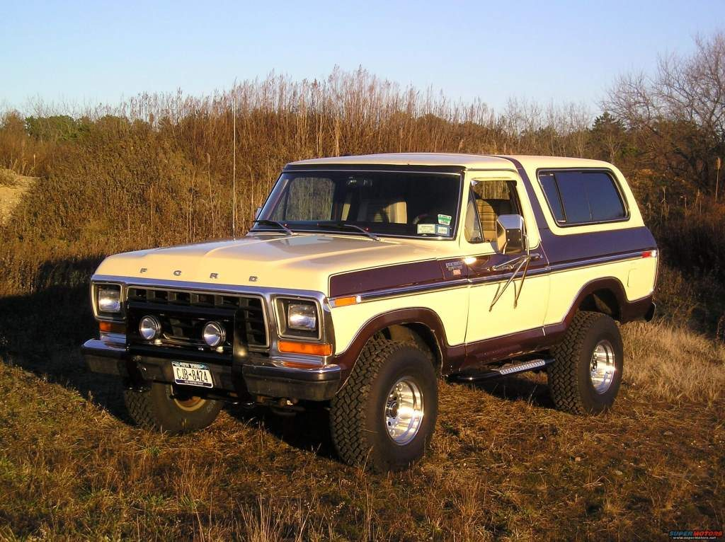 The Ford Bronco is a classic redneck car