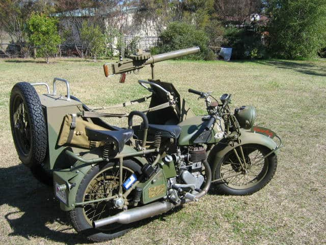 Military Motorcycles 6