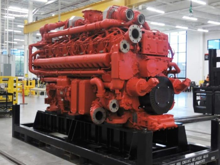2012-Present Cummins QSK95 engine