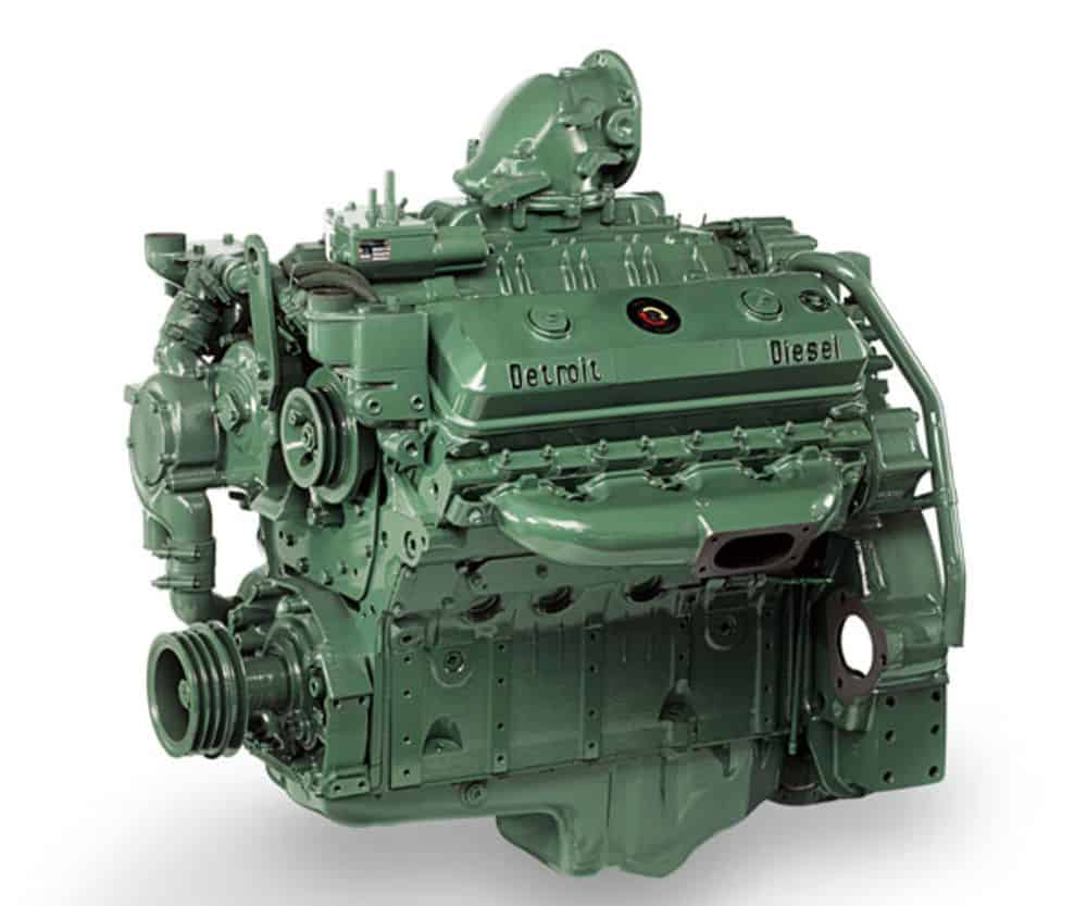 Detroit Diesel Series 71 Engine