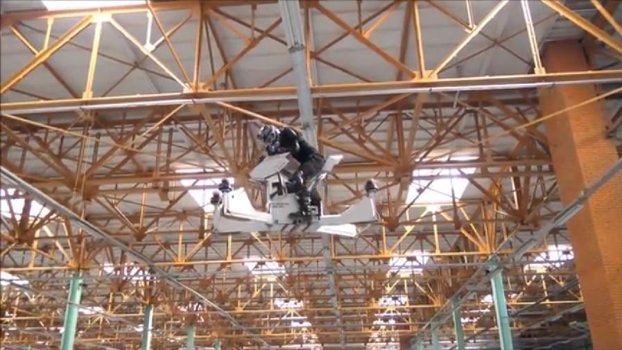 Scorpion-3 Flying Motorcycle 3
