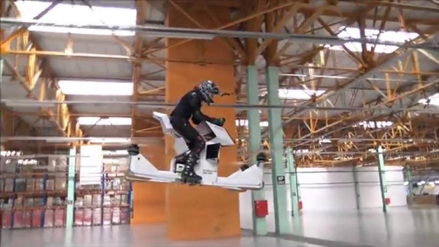Scorpion-3 Flying Motorcycle 2