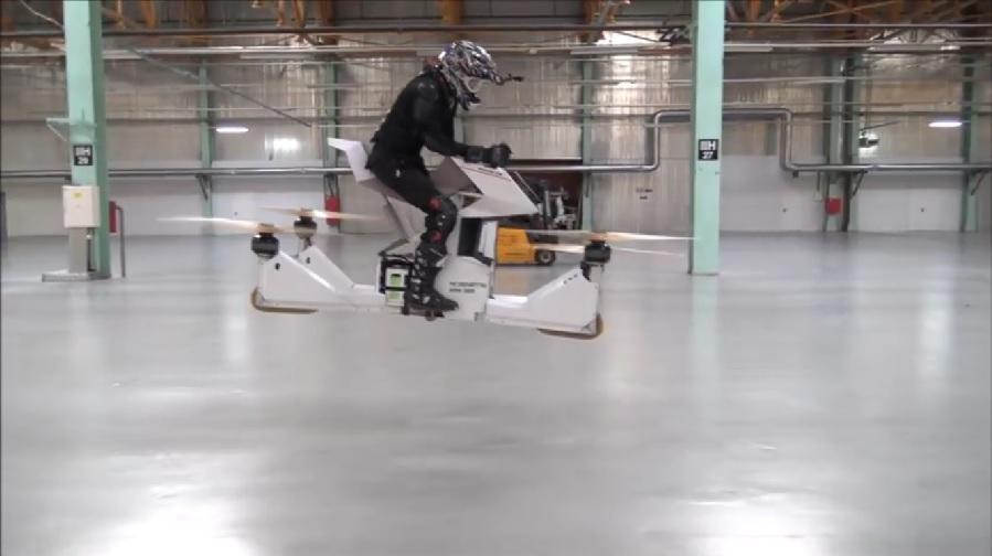 Scorpion-3 Flying Motorcycle 1