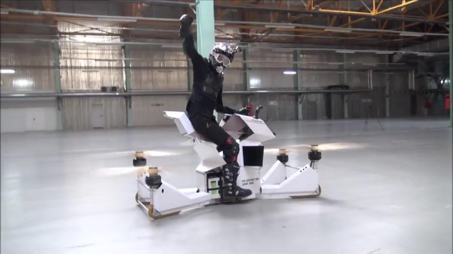 Scorpion-3 Flying Motorcycle 4