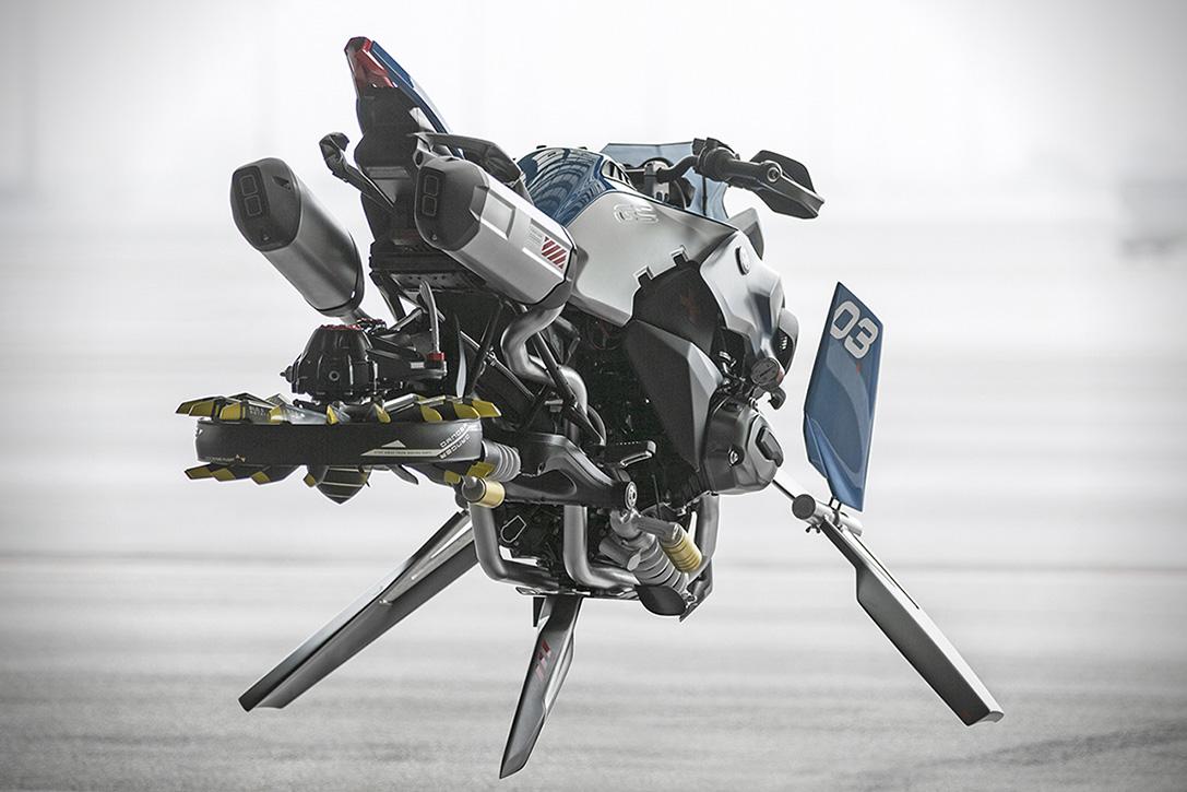 Lego BMW Hoverbike 2