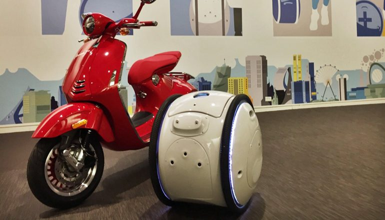 "Piaggio's Innovative Mobility Concept: The ""GITA"" And ""KILO"" Robotic Luggage"