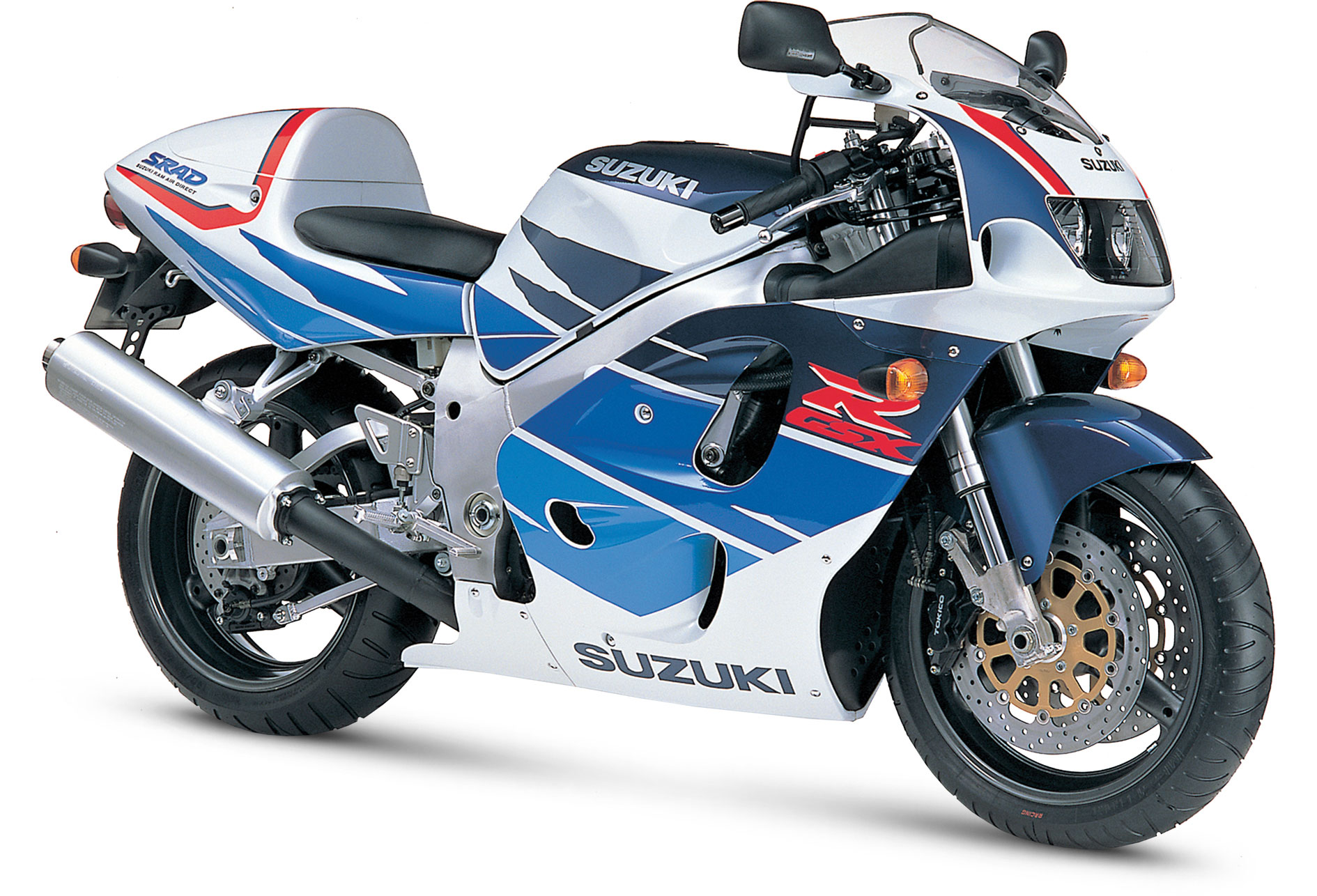 90s Sports Bikes - Suzuki GSX-R