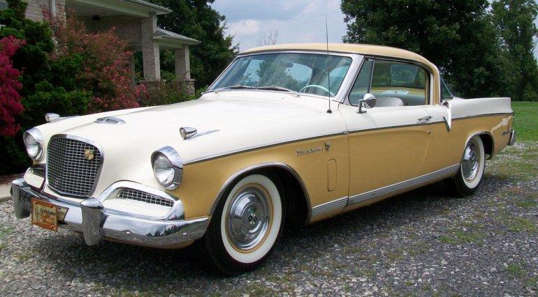 1957 Studebaker Golden Hawk 400