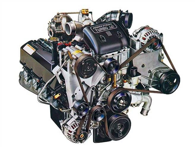 Navistar International Power Stroke V8