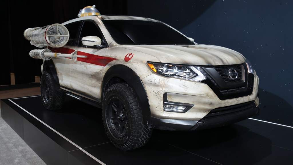 Does Nissan Rogue Work As An X-Wing?