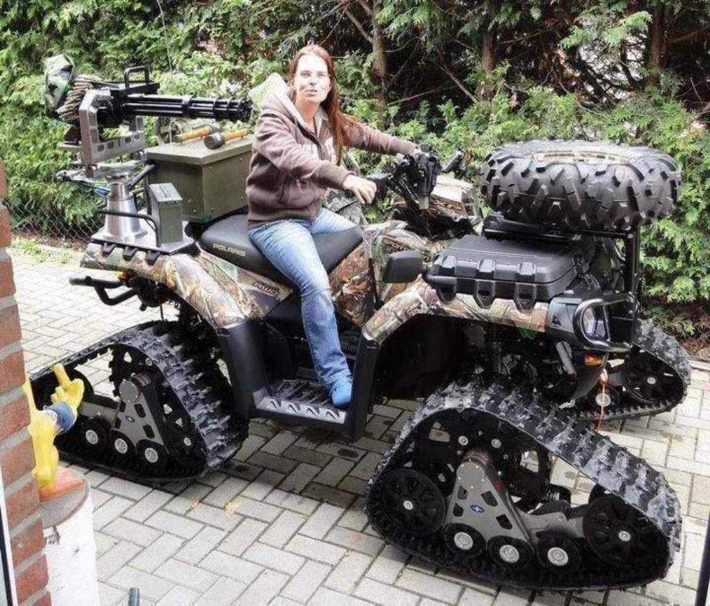 The ATV can be a formidable redneck ride