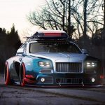 Widebody Rolls-Royce Wraith With Ski Box Rendering By Khyzyl Saleem