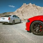 Dodge Charger Hellcat vs Cadillac CTS-V (Video)
