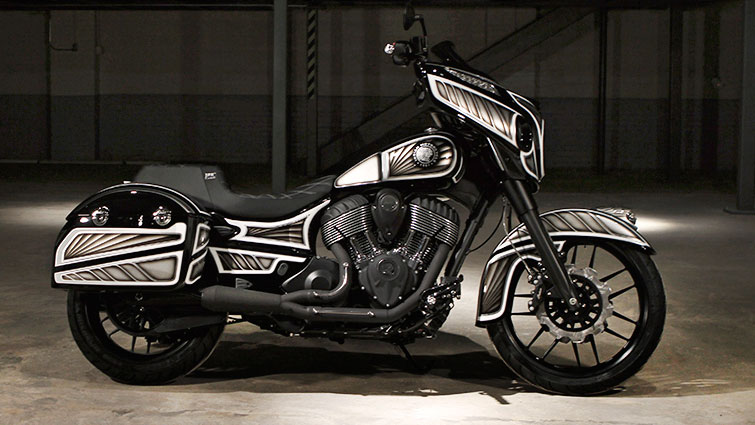 2nd Place The Indian Chieftain America Proud
