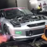 3,000 HP Nissan GT-R Almost Takes Off Dyno During The Test For The 6s 1/4 Mile Record