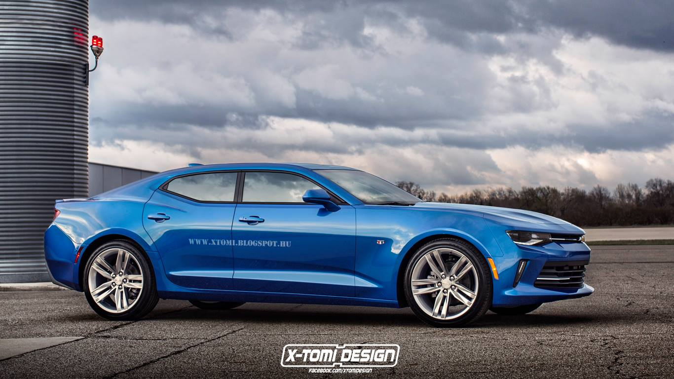 2019 Camaro Crossover Confirmed