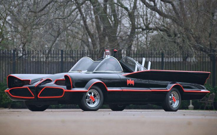 Ghia Car Concepts - Lincoln Futura Batmobile