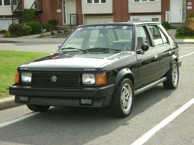 1986 Dodge-Shelby Omni GLH-S