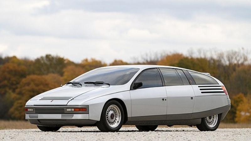 Ghia Car Concepts - Lincoln Quicksilver 3