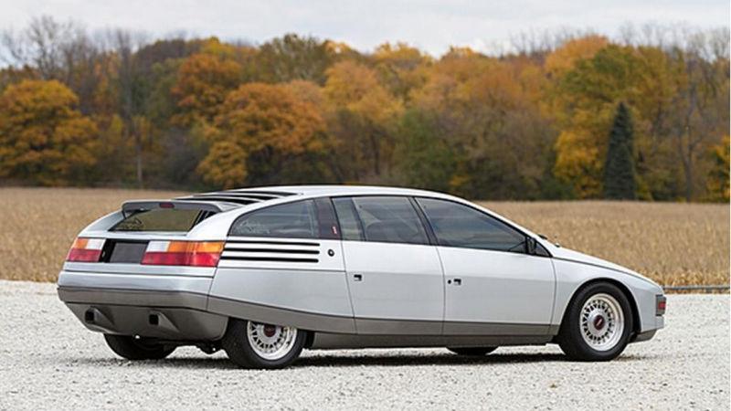 Ghia Car Concepts - Lincoln Quicksilver 1