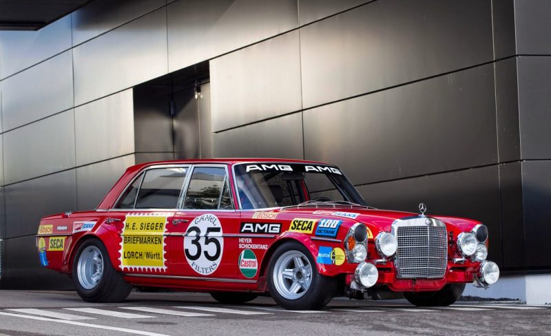 """1971 300 SEL 6.8L AMG """"The Red Pig"""" Mercedes-Benz AMG"""