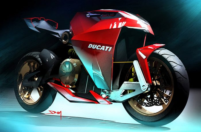 The Ducati Spirito Elettrico An Electric Ducati With A Top Speed