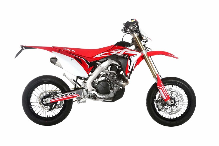 Notice The Tire Differences On This Honda CRF