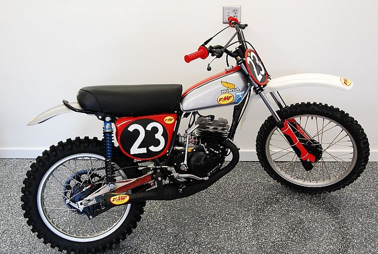 1970s Honda Dirt Bike