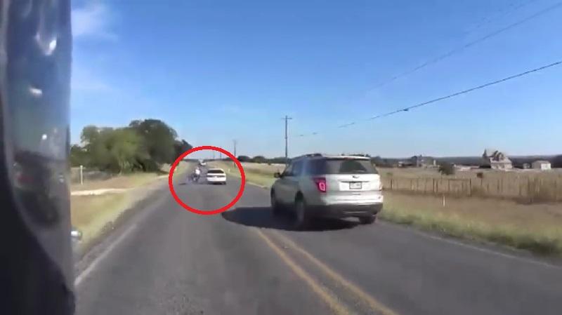 Motorcycle Road Rage Video 1