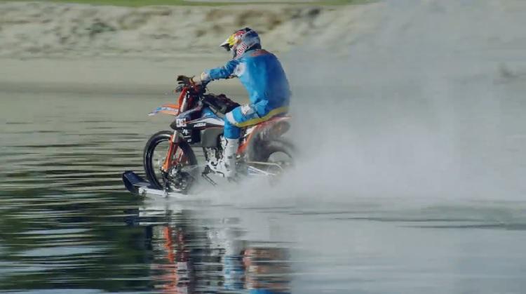 Dirt Bike On Water 2