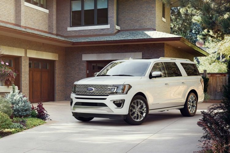 2018 Ford Expedition 3/4/ view