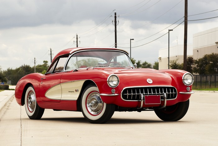 1957 Corvette C1 Fastest Chevy Car From The 50s
