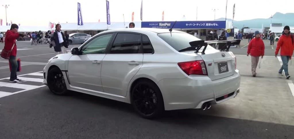 2012 Subaru WRX STI S206