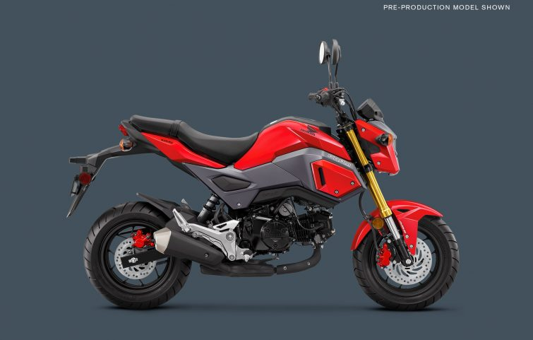 The Honda Grom Returns To The US For 2018!