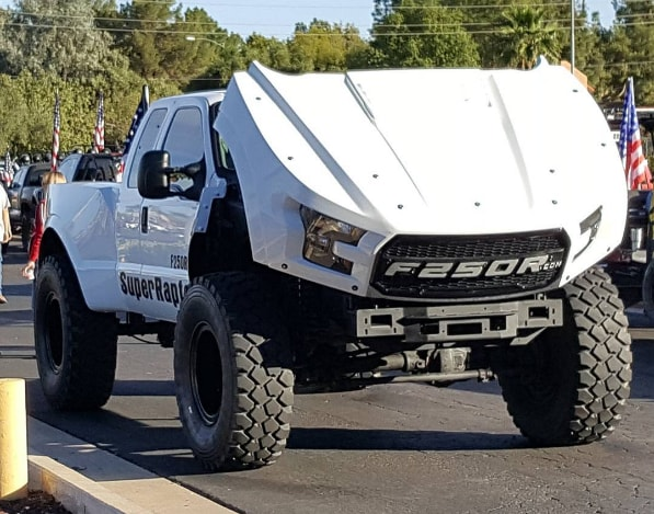 Ford F-150 Raptor Not Enough For You? Then Take A Look At The Massive F-250 MegaRaptor