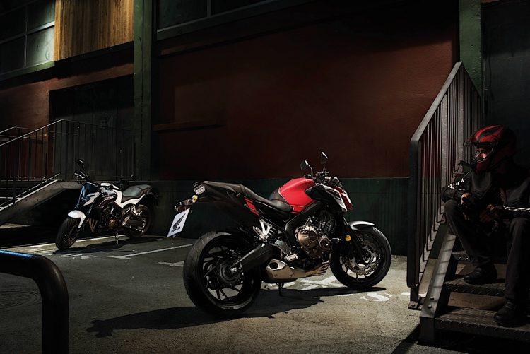 2018 Honda CB650F 2