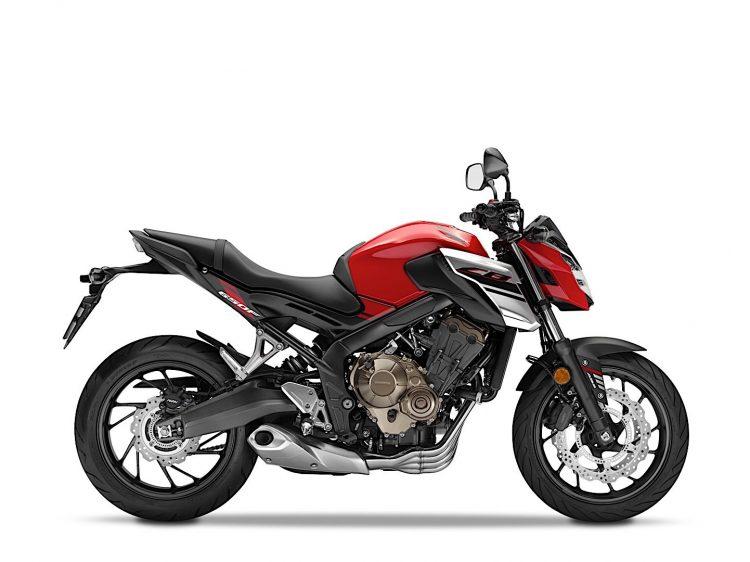 2018 Honda CB650F 3