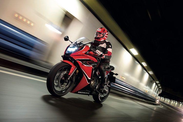 2018 Honda CBR650F Rider