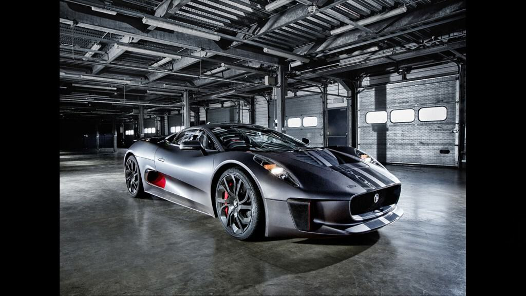 The Jaguar C-X75