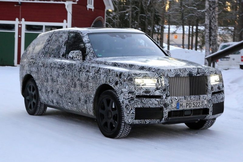 Rolls Royce Cullinan will be one of the best cars 2019 is bringing our way