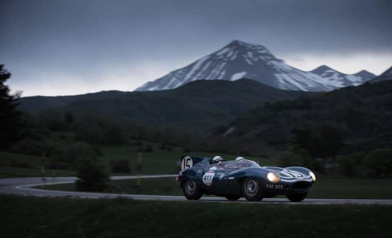 D-Type Jaguar fastest car